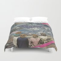 rocks Duvet Covers featuring Rocks by Sarah Eisenlohr