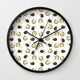 hedgegog fields Wall Clock