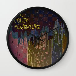 The Color Adventure in The Mistic Areas Wall Clock