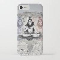shiva iPhone & iPod Cases featuring Shiva by Jonnea Herman