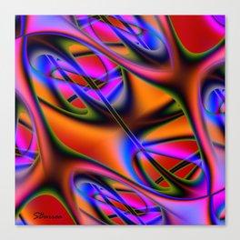 Capillary Canvas Print
