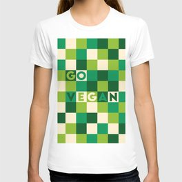Go vegan (green life) T-shirt