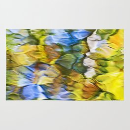 Sycamore Mosaic Abstract Art Rug