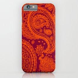 Hokie Paisley iPhone Case