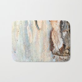Eucalyptus tree bark and wood Bath Mat