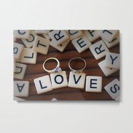Love Letters Metal Print