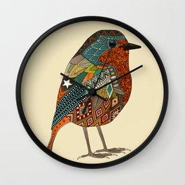 robin vanilla Wall Clock