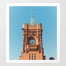 The Big Ben of Wales Art Print
