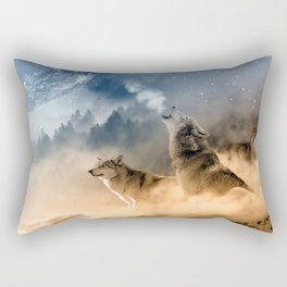 Moonrise Howl Rectangular Pillow