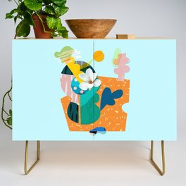 A flower in Antibes Credenza