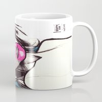 native Mugs featuring Native by Joseph Walrave