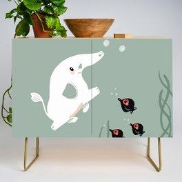 Ocean Elephant Credenza