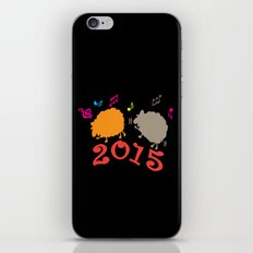 Dancing sheep 2015 year of the animal iPhone & iPod Skin