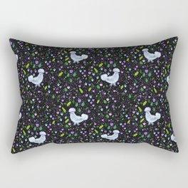 Glam Chicken Rectangular Pillow