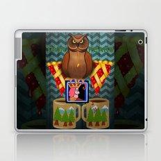 Twin Peaks Where The Coffee Is Always Hot Laptop & iPad Skin