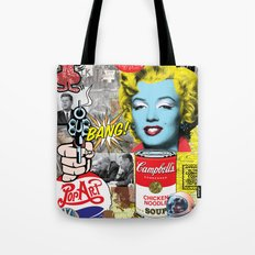Pop Art Montage Tote Bag