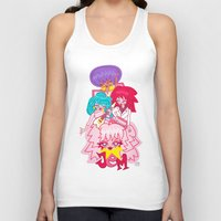 jem Tank Tops featuring fanart Jem and the Holograms by Lady Love