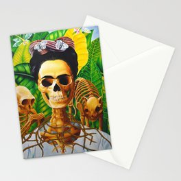 Frida vive Stationery Cards