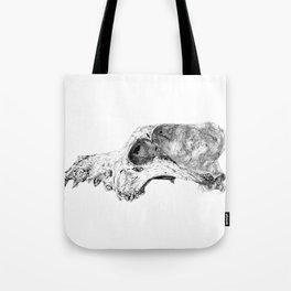 Wolf Skull Tote Bag