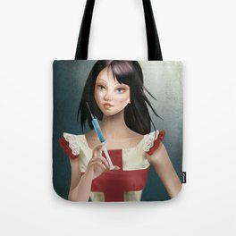Evelyn - Cameo Portrait Tote Bag