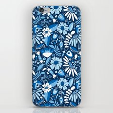 Annabelle - Blues iPhone & iPod Skin