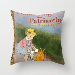 Smashing the Patriarchy Throw Pillow