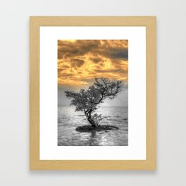 And Heavens will be set on fire Framed Art Print