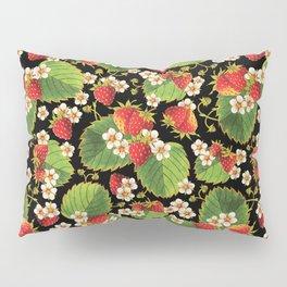 Strawberries Botanical Pillow Sham