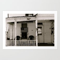 Porch. Art Print