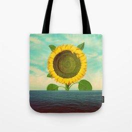 Sun in the ocean Tote Bag