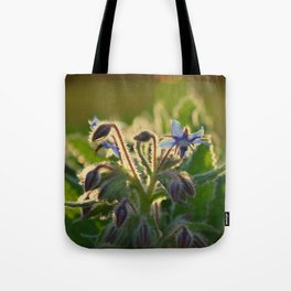 The Beauty of Weeds Tote Bag