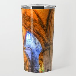 St Giles Cathedral Edinburgh Scotland Travel Mug