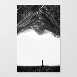 Lost in isolation Canvas Print