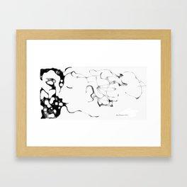 The Kiss (070413a) Framed Art Print