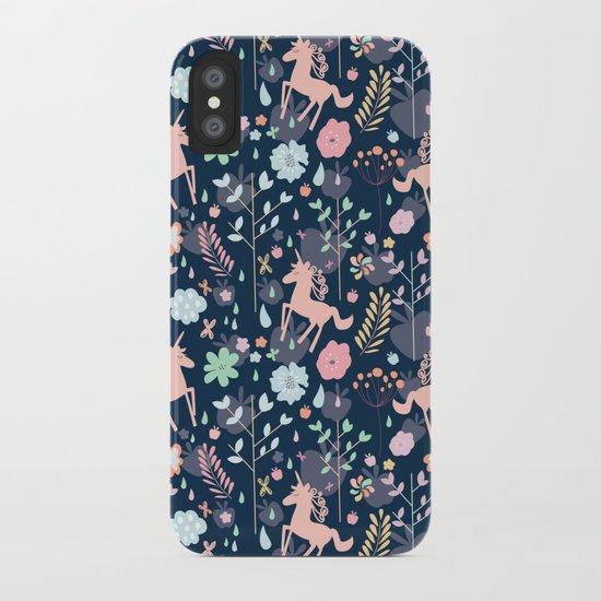 Unicorns in Hesperides iPhone Case