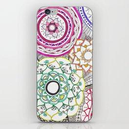 carnival of colors iPhone Skin