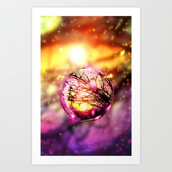 Magical Drop. Art Print