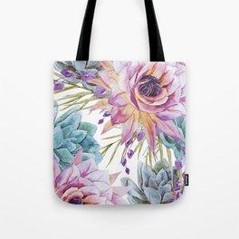 FLOWERS WATERCOLOR 19 Tote Bag