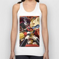 manga Tank Tops featuring Manga 07 by Zuno