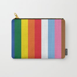 ALL THE COLORS OF LGBTQI+ QUEER COLOUR STORY UNITY Carry-All Pouch