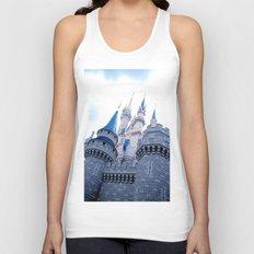 Disney Castle In Color Unisex Tank Top