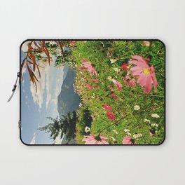 Summer Flower Field Laptop Sleeve