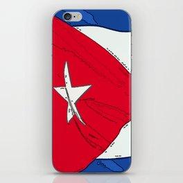 Cuba Fancy Flag iPhone Skin
