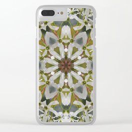 Lacy Serviceberry kaleidoscope - Amelanchier 0033 k5 Clear iPhone Case