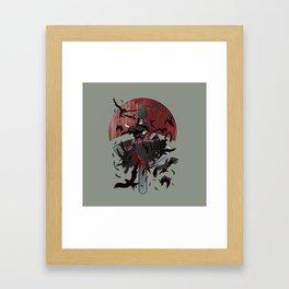 Itachi Uchiha Jutsu Framed Art Print