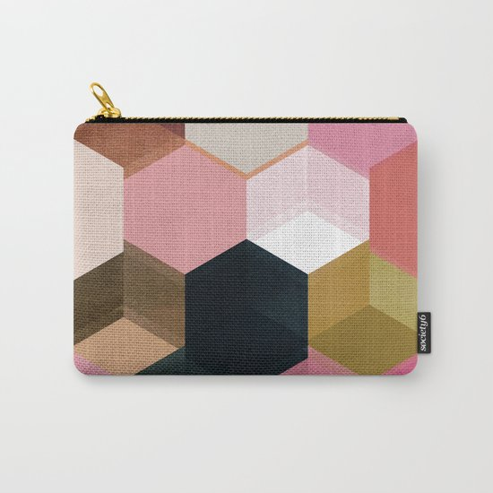 colour + pattern 17 Carry-All Pouch