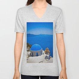 Santorini Unisex V-Neck