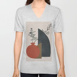 Abstract Elements 12 Unisex V-Neck