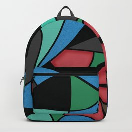 Abstract pattern Mosaic . Backpack
