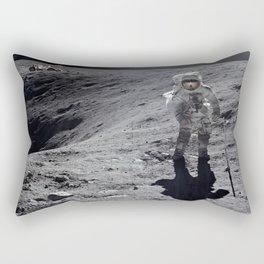 Apollo 16 - Plum Crater Rectangular Pillow